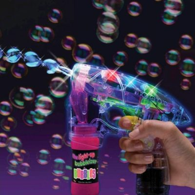 Bubble Gun With Light & Sound Bellen Blaas