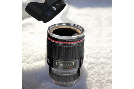 Camera Lens Mok Beker