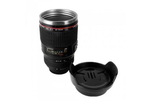 Camera Lens Mok Beker Mug