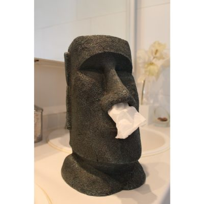 Moai Tissue Box Holder Houder