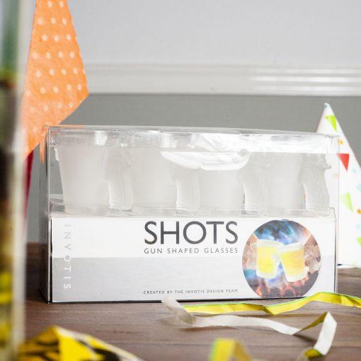 Nunet pistool shot drank