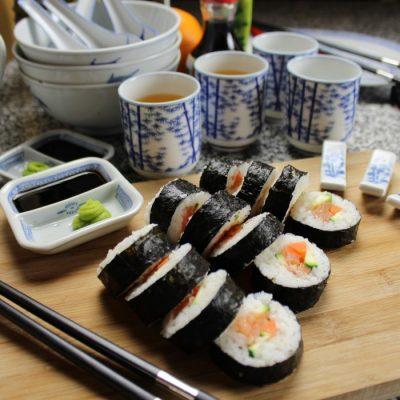 Perfect Roll Sushi Zelf Maken