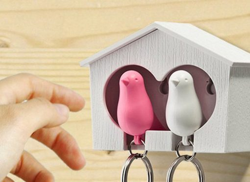Sparrow Key ring The Couple Sleutelhouder