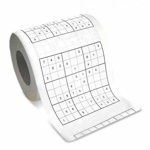 Sudoku Toiletpapier Toilet WC