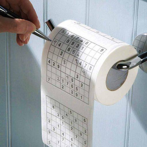 Sudoku Toiletpapier papier