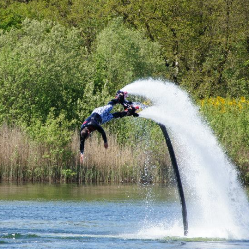 Flyboard of Hoverboard in Almelo