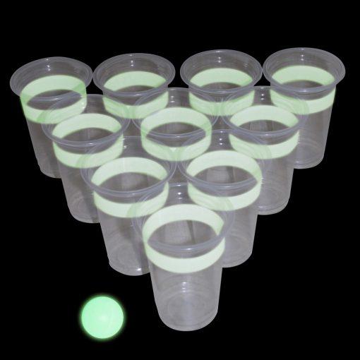 Glow in the dark beerpong Nunet